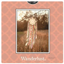Greenleaf & Bridgwater WANDERLUST  Large Scented Envelope Sachet